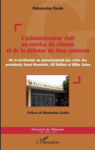 Couverture L'administrateur civil au service du citoyen et de la défense du bien commun