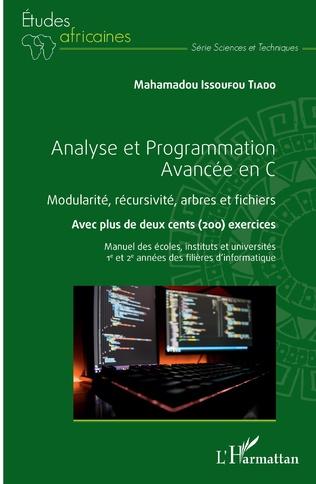 Couverture Analyse et Programmation Avancée en C