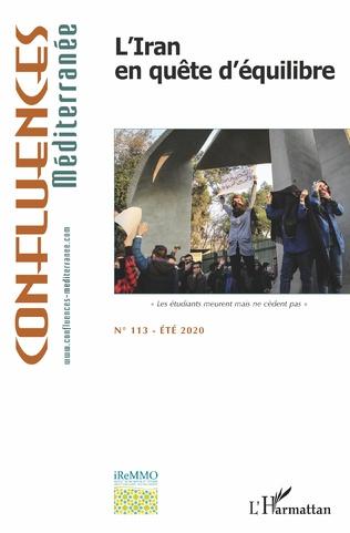 Couverture L'Iran en quête d'équilibre