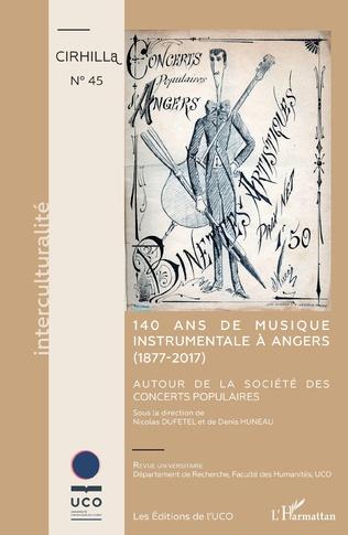 Couverture 140 ans de musique instrumentale à Angers (1877-2017)