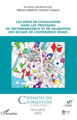 Couverture Les défis de l'évaluation dans les pratiques de Reconnaissance et de Validation des Acquis de l'Expérience (RVAE)
