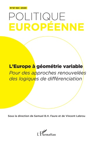 Couverture L'Europe à géométrie variable