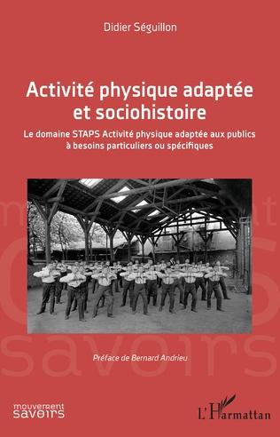Couverture Activité physique adaptée et sociohistoire