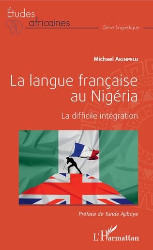 Couverture La langue française au Nigéria