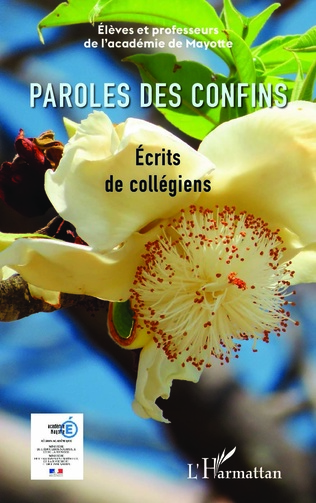 Couverture Paroles des confins