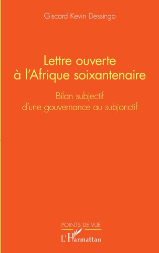 Couverture Lettre ouverte à l'Afrique soixantenaire