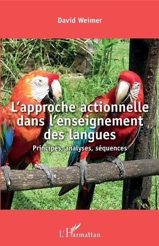 Couverture L'approche actionnelle dans l'enseignement des langues
