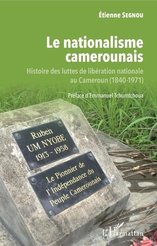 Couverture Le nationalisme camerounais