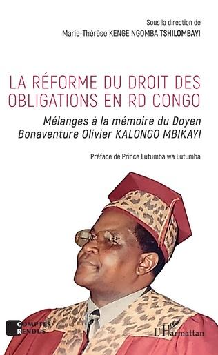Couverture La réforme du droit des obligations en RD Congo