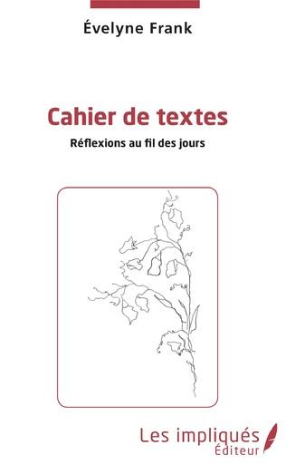 Couverture Cahier de texte