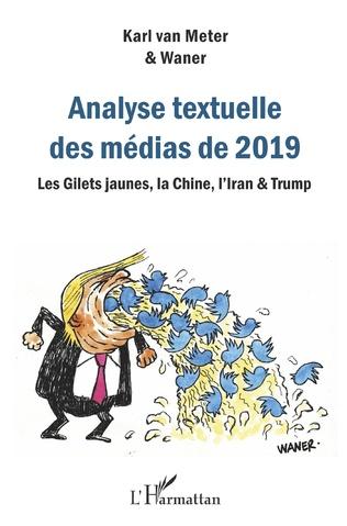 Couverture Analyse textuelle des médias de 2019