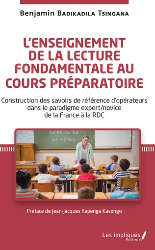 Couverture L'enseignement de la lecture fondamentale au cours préparatoire