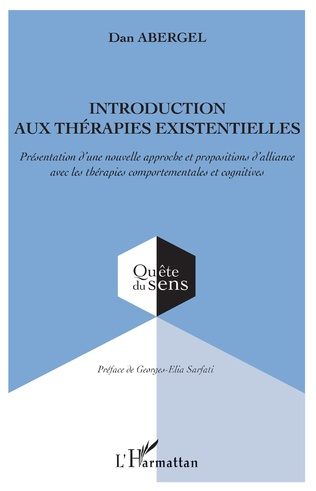 Couverture Introduction aux thérapies existentielles
