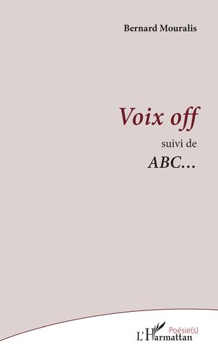 Couverture Voix off