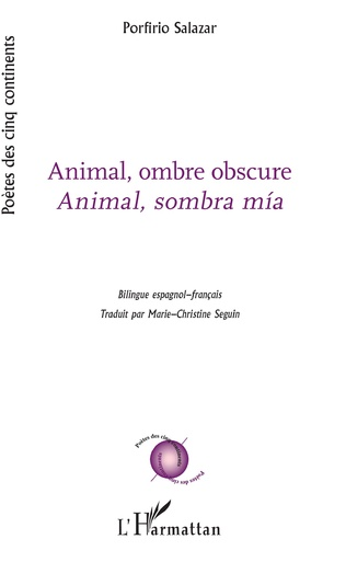 Couverture Animal, ombre obscure
