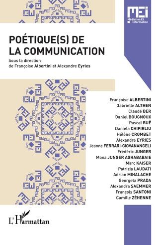 Couverture Poétique(s) de la communication
