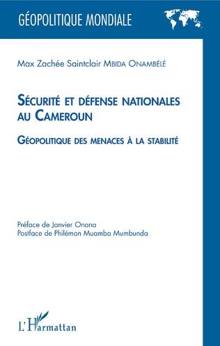 Couverture Sécurité et défense nationales au Cameroun