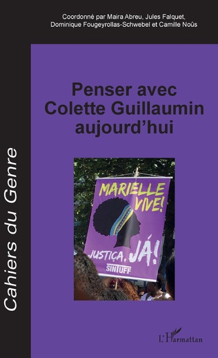 Couverture Penser avec Colette Guillaumin aujourd'hui