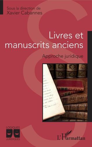 Couverture Livres et manuscrits anciens