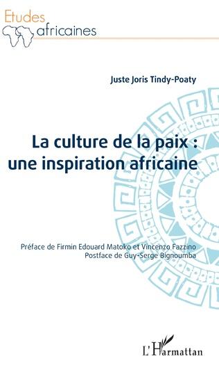Couverture La culture de la paix : une inspiration africaine