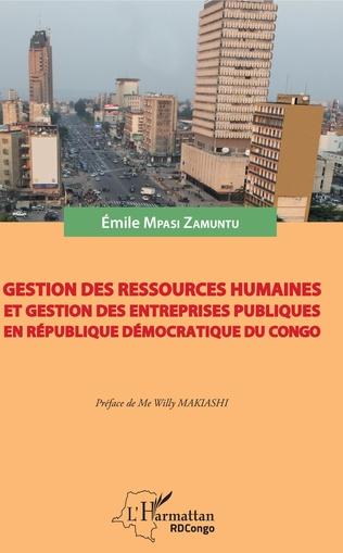 Couverture Gestion des ressources humaines et gestion des entreprises publiques en République démocratique du Congo