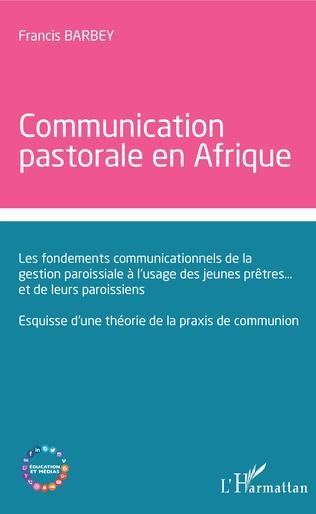 Couverture Communication  pastorale en Afrique