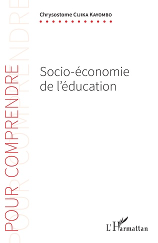 Couverture Socio-économie de l'éducation