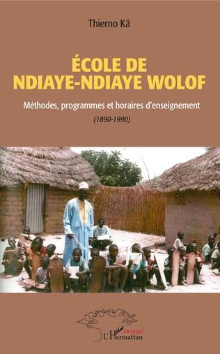 Couverture École de Ndiaye Ndiaye Wolof