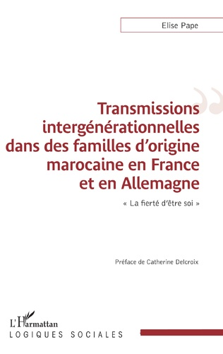 Couverture Transmissions intergénérationnelles dans des familles d'origine marocaine en France et en Allemagne
