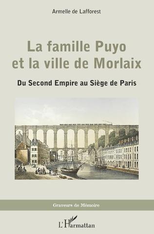 Couverture La famille Puyo et la ville de Morlaix