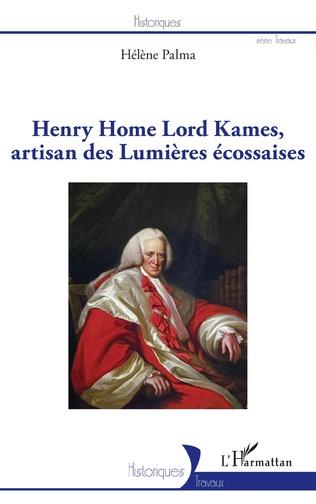 Couverture Henry Home Lord Kames, artisan des Lumières écossaises
