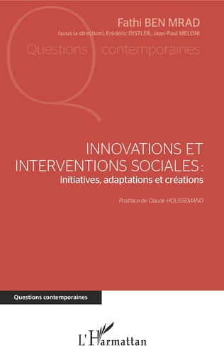 Couverture Innovations et interventions sociales : Iinitiatives, adaptations et créations