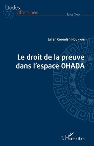 Couverture Droit de la preuve dans l'espace OHADA