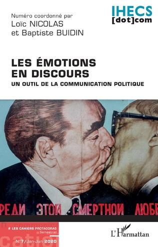 Couverture Les émotions en discours