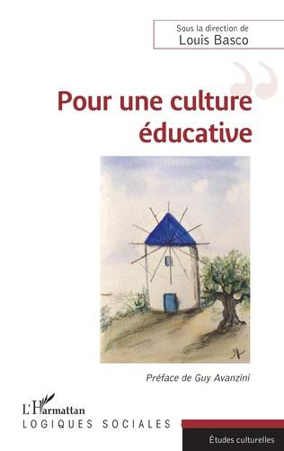 Couverture Pour une culture éducative