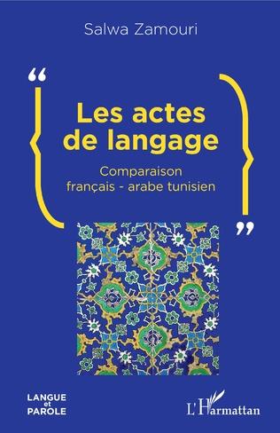 Couverture Les actes de langage