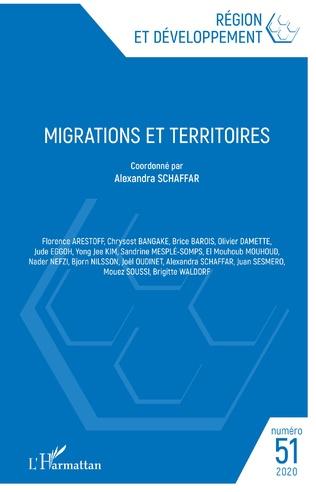 Couverture Migrations et territoires