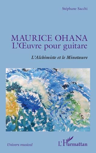 Couverture Maurice Ohana