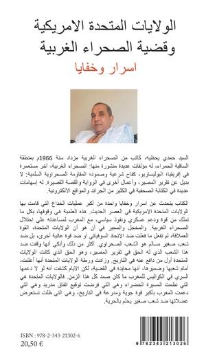 Couverture Les États-Unis et le conflit du Sahara Occidental
