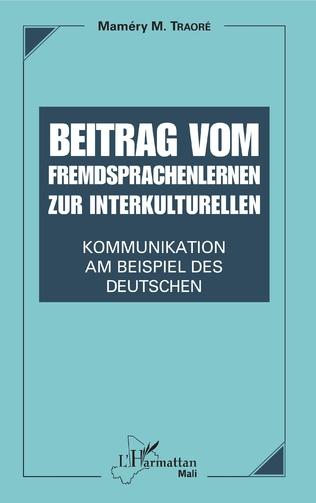 Couverture Beitrag vom Fremdsprachenlernen zur interkulturellen Kommunikation