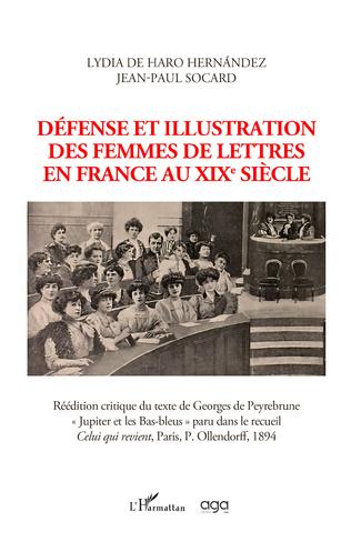 Couverture Défense et illustration des femmes de lettres en France au XIXe siècle