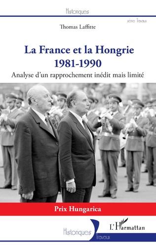 Couverture La France et la Hongrie