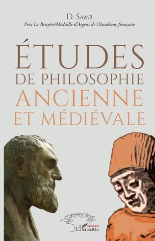 Couverture Études de philosophie ancienne et médiévale