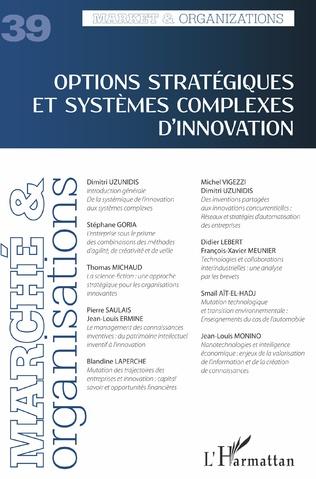 Couverture Options stratégiques et systèmes complexes d'innovation