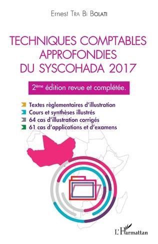 Couverture Techniques comptables approfondies du syschohada 2017