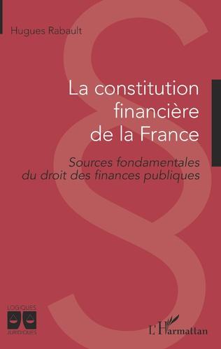 Couverture La constitution financière de la France