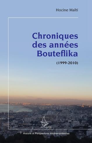 Couverture Chroniques des années Bouteflika