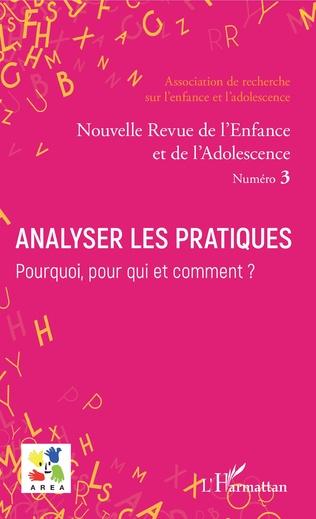 Couverture Analyser les pratiques