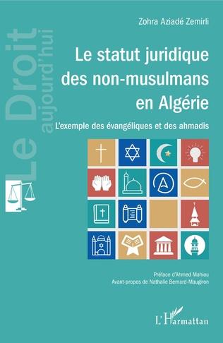 Couverture Le statut juridique des non-musulmans en Algérie