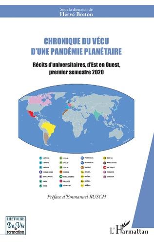Couverture Chronique du vécu d'une pandémie planétaire